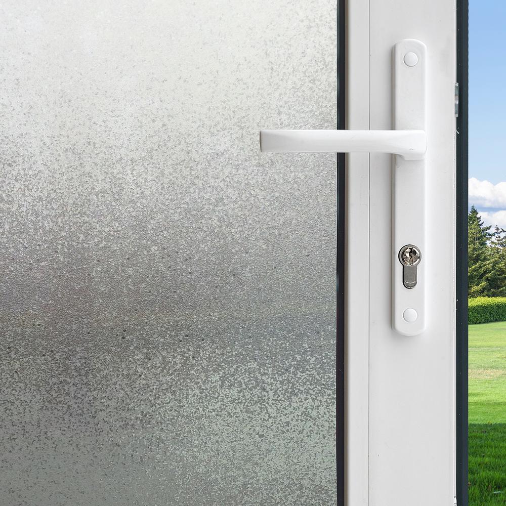 Gila 36 in. x 78 in. Privacy Control Ice Chips Decorative Window Film