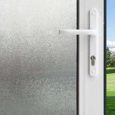 36 in. x 78 in. Privacy Control Ice Chips Decorative Window Film