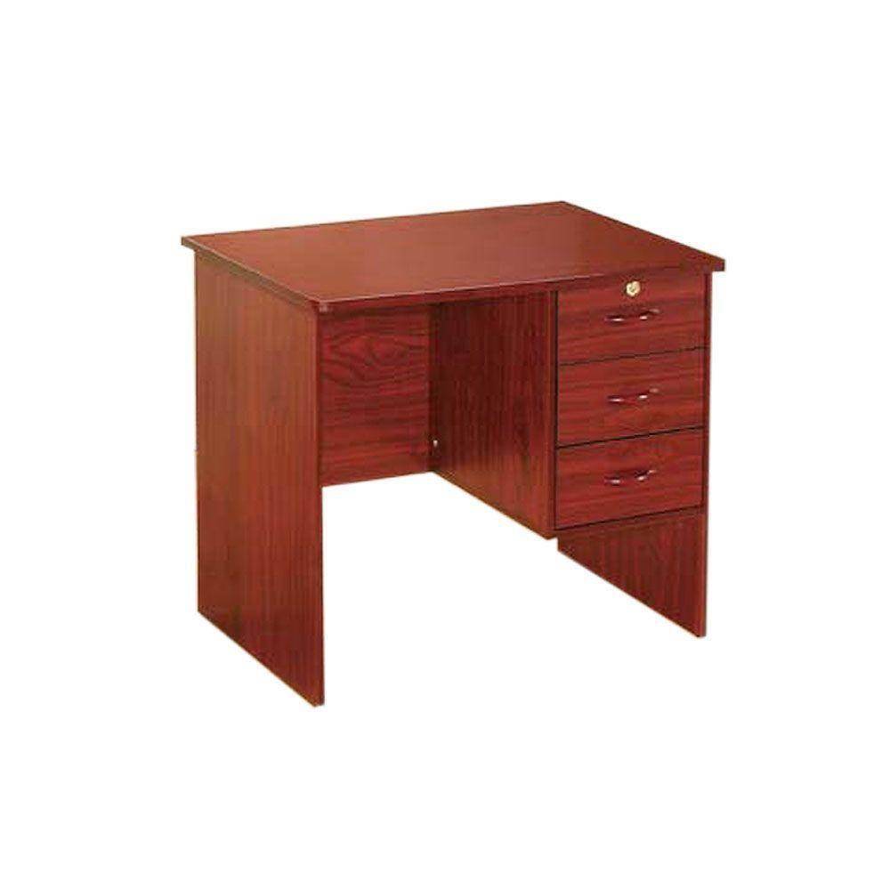 Home Decorators Collection Stacy Cherry Computer Desk-DISCONTINUED