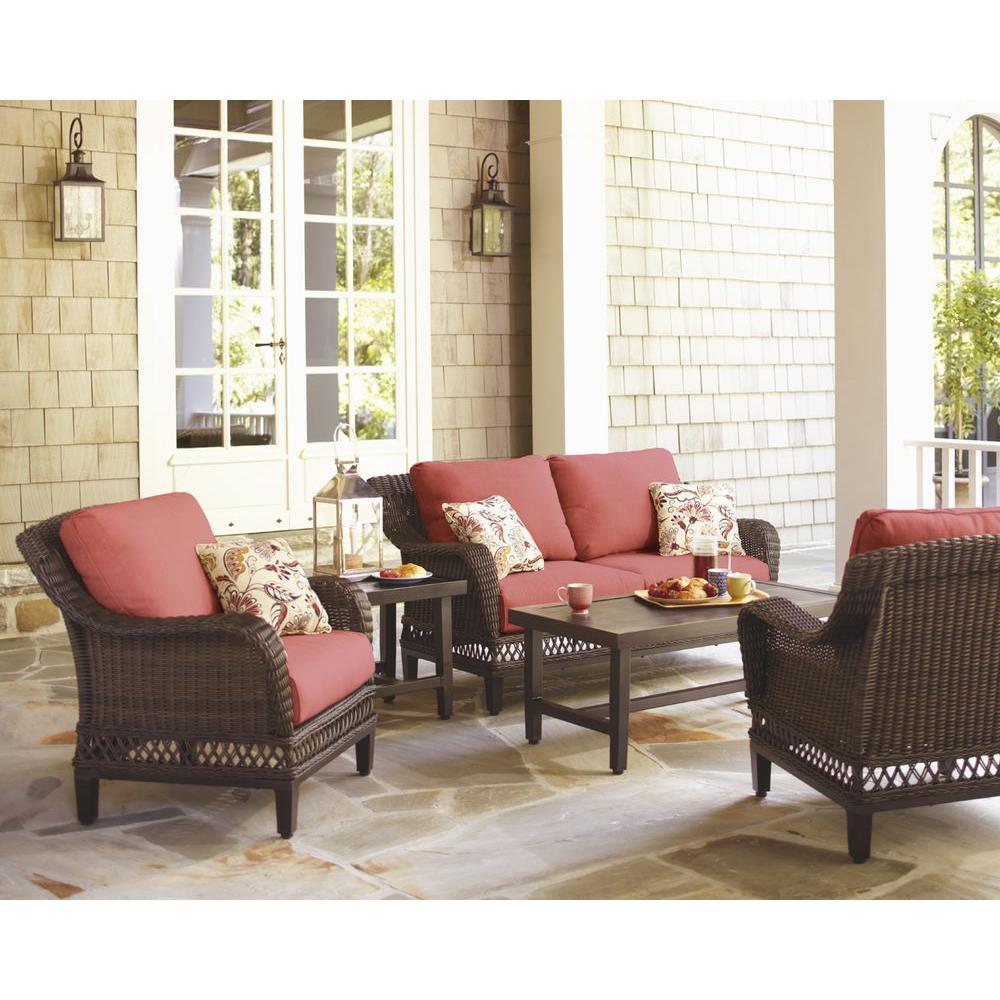 Woodbury Metal Outdoor Patio Coffee Table