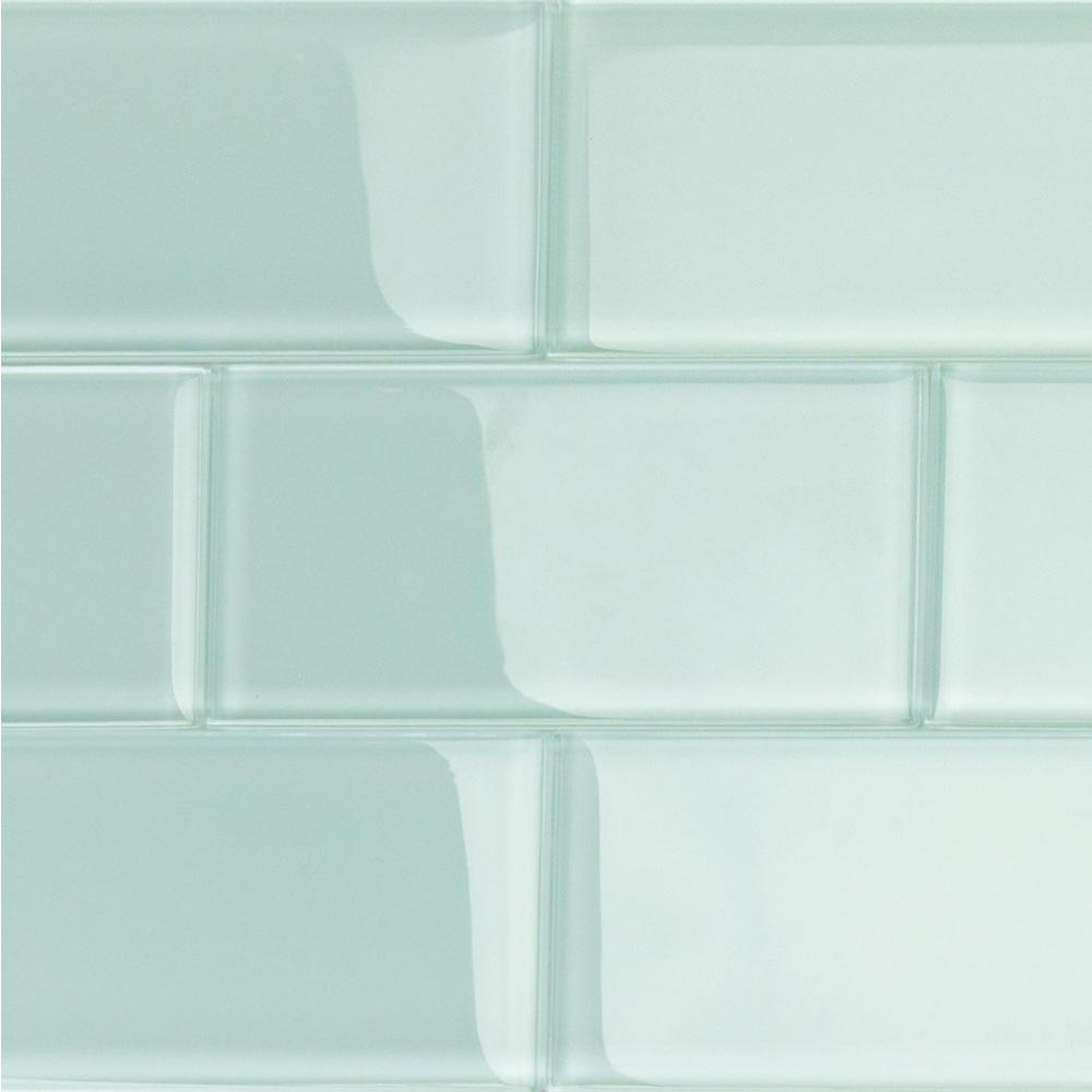 Glass Subway Tile Bathroom Ideas