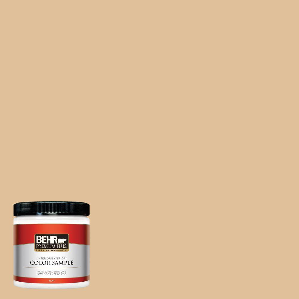 8 oz. #300E-3 Clair De Lune Interior/Exterior Paint Sample
