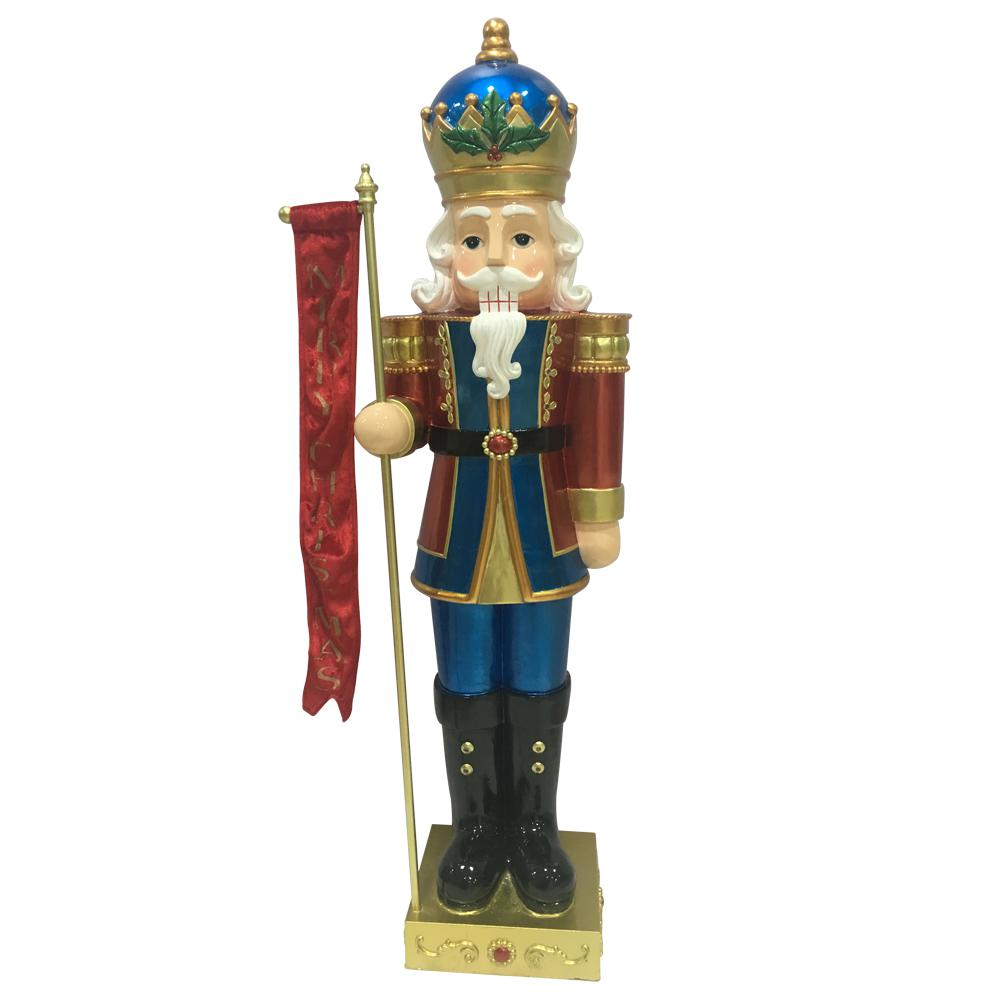 HomeAccentsHoliday Home Accents Holiday 40 in. Christmas Nutcracker with LED Lights