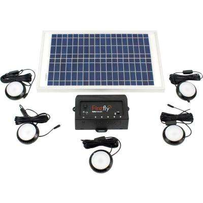Black and White GoSol Solar Light (5-Pack)