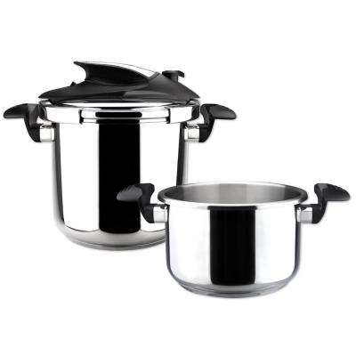 Nova trio 4.1 + 6.3 Qt. Stainless Steel Stovetop Pressure Cookers