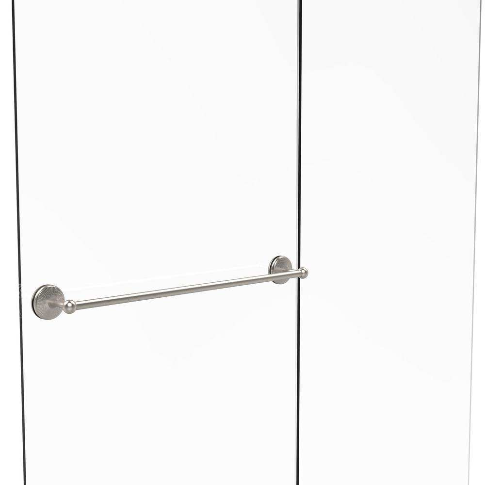 Allied Brass Monte Carlo Collection 30 in. Shower Door To...