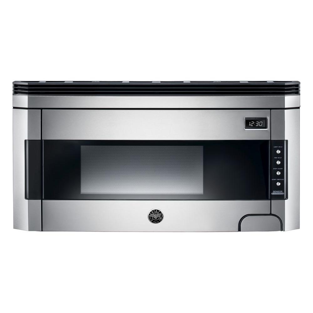30 in. 1.5 cu. ft. Over the Range Microwave Hood in