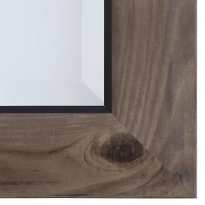 Internet 206526122 Yosemite Home Decor Mirror With Frame In Gray Wood
