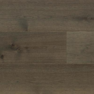 Extra Wide and Long 7.5 in. W Rusty Ridge Brown Engineered Hickory Hardwood Flooring (29.75 sq. ft./case)