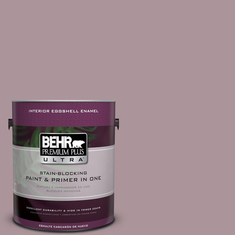 BEHR Premium Plus Ultra 1-gal. #ICC-64 Heirloom Quilt Eggshell Enamel Interior Paint