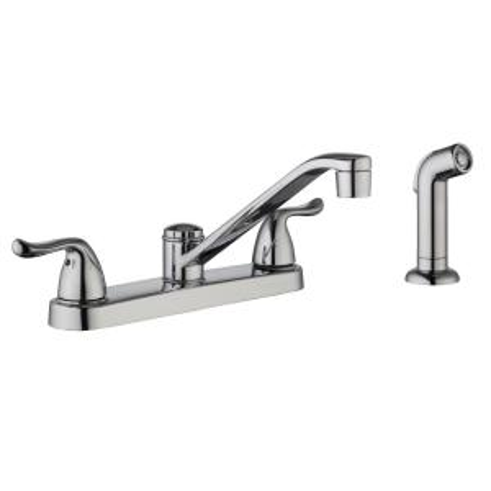 Glacier Bay Constructor 2 Handle Standard Kitchen Faucet