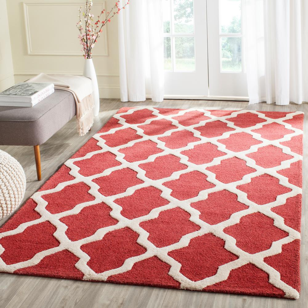Safavieh Cambridge Rust/Ivory 10 ft. x 14 ft. Area Rug