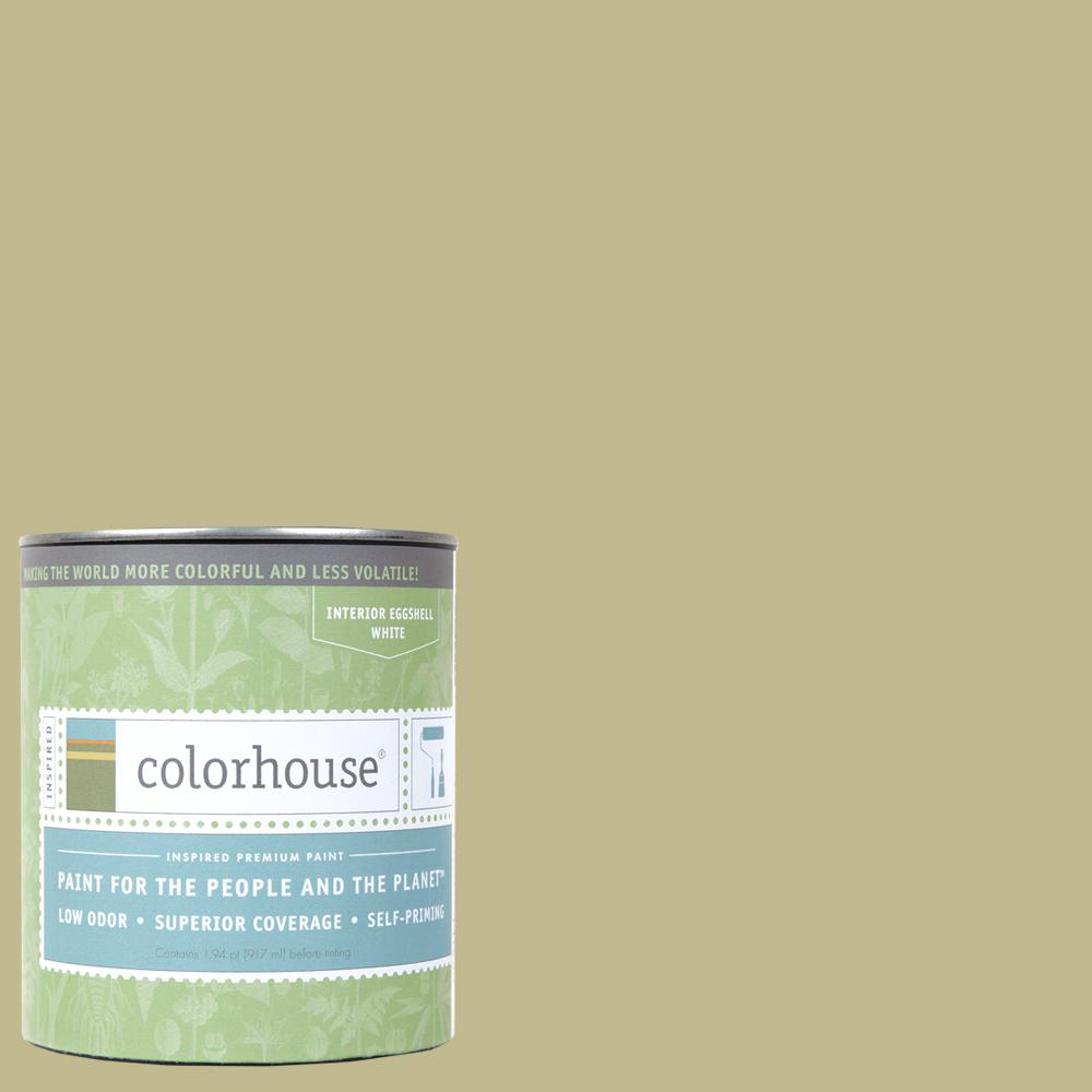 1 qt. Leaf .02 Eggshell Interior Paint