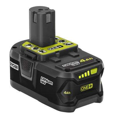 18-Volt ONE+ 4.0 Ah Lithium-Ion Battery