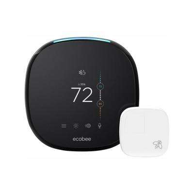 4 Smart Thermostat with Room Sensor and Built-in Amazon Alexa
