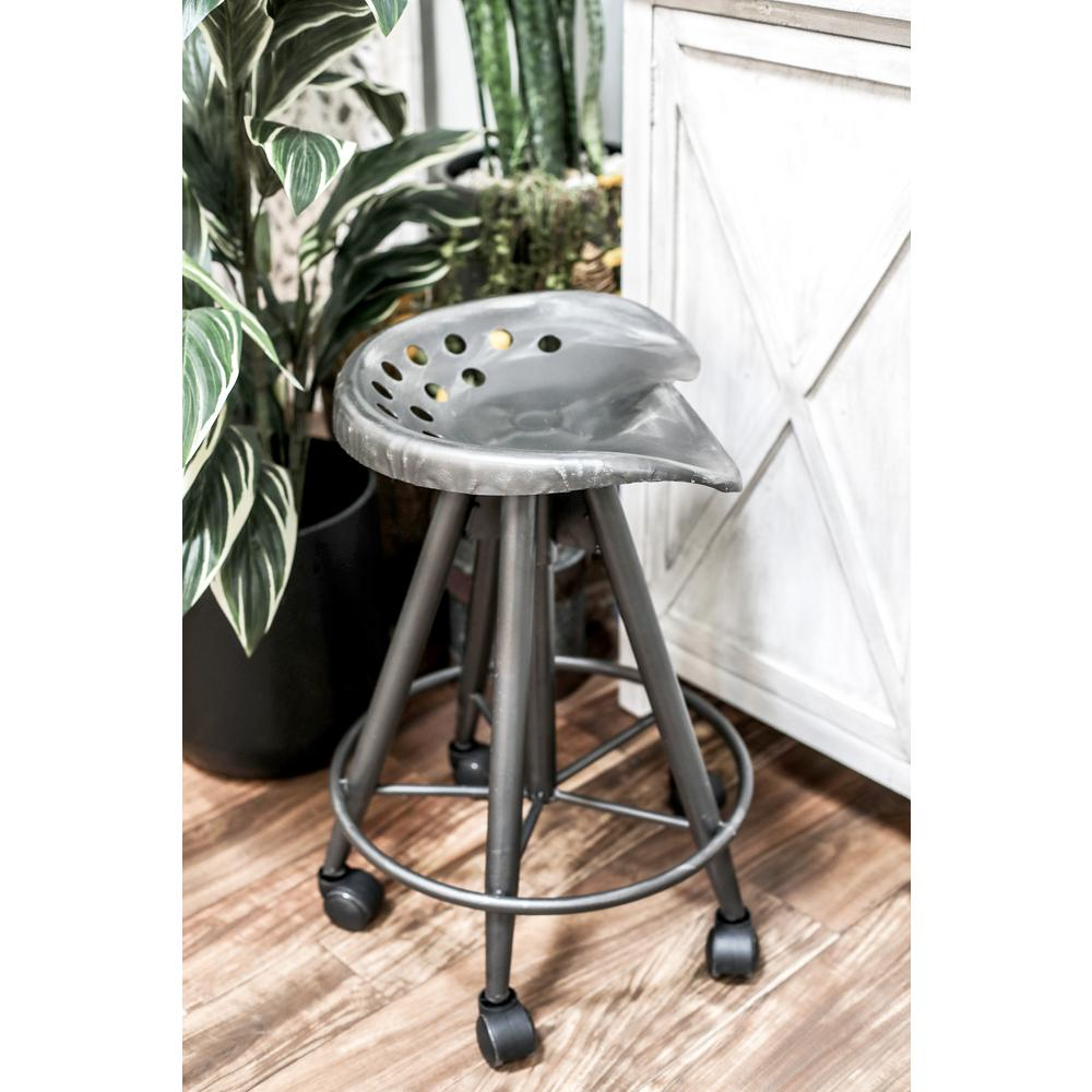 bar stool with wheels. Black Adjustable Bar Stool With Wheels D
