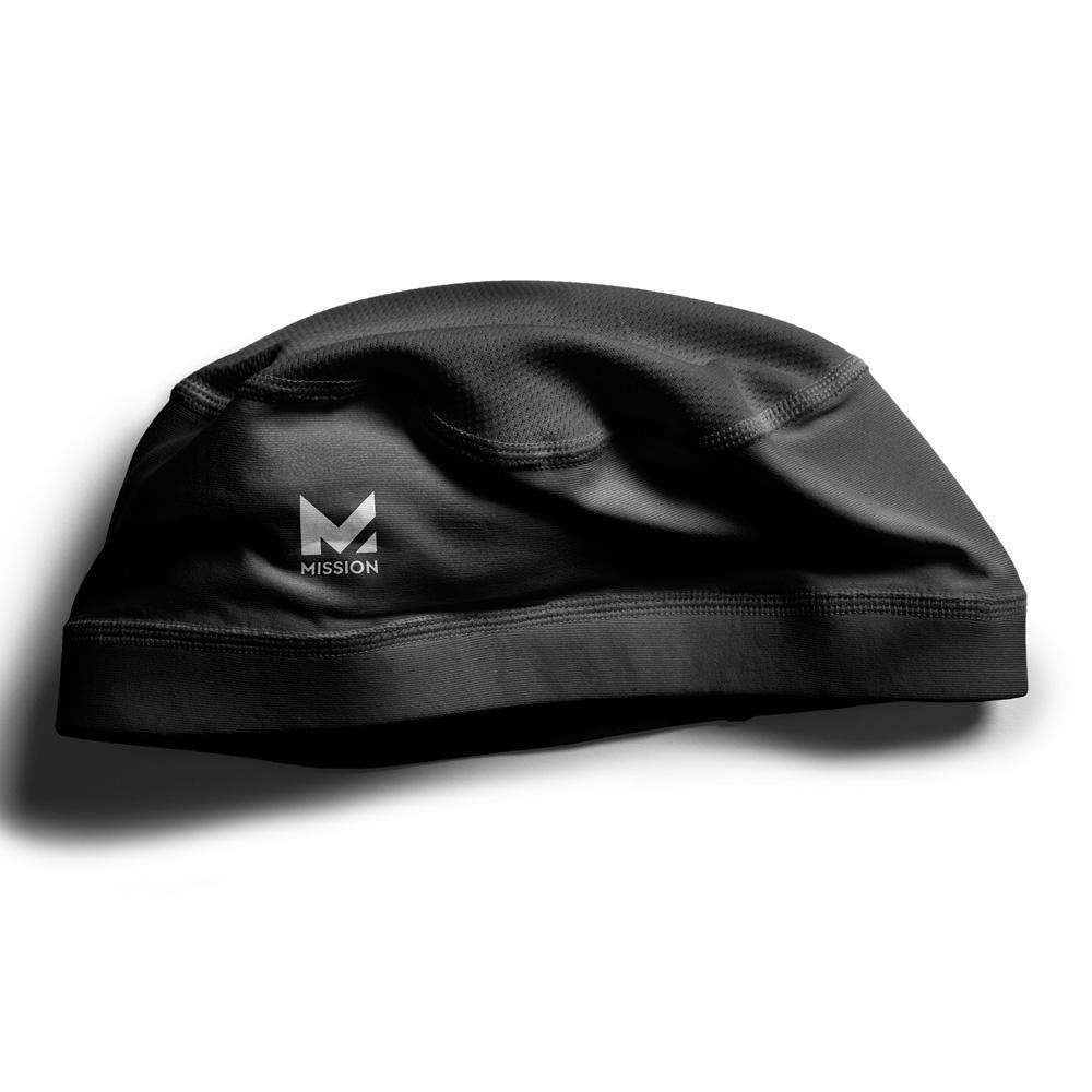 Black Cooling Helmet Liner