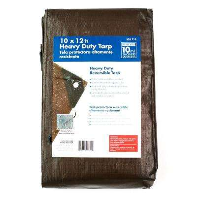 10 ft. x 12 ft. Heavy-Duty Tarp