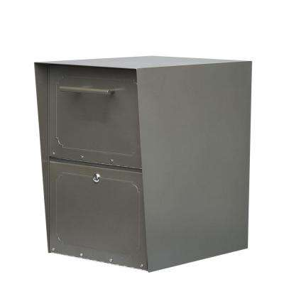 Oasis Graphite Bronze Post-Mount or Column-Mount Locking Drop Box