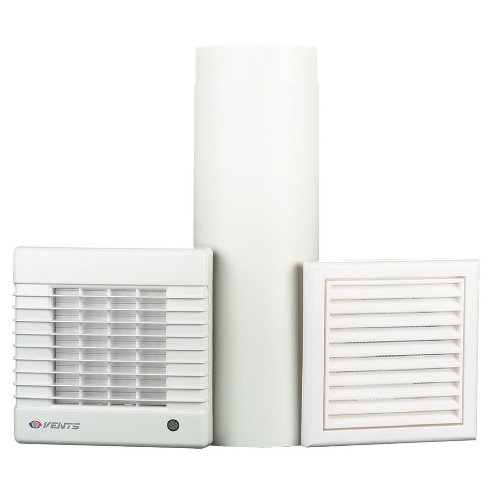 VENTS 90 CFM Wall-Through Garage Ventilation Kit MA Series 5 in  Duct