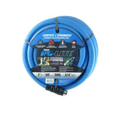 AG-Lite 3/4 in. x 15 ft. Rubber Water Hose