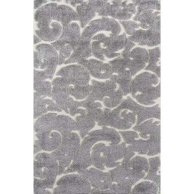 Charlotte Grey 8 ft. 6 in. X 11 ft. 6 in. Indoor Area Rug