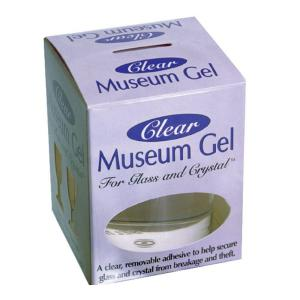 New Free Shipping To Have A Long Historical Standing Quake Hold! Crystalline Clear Museum Wax 2 Oz