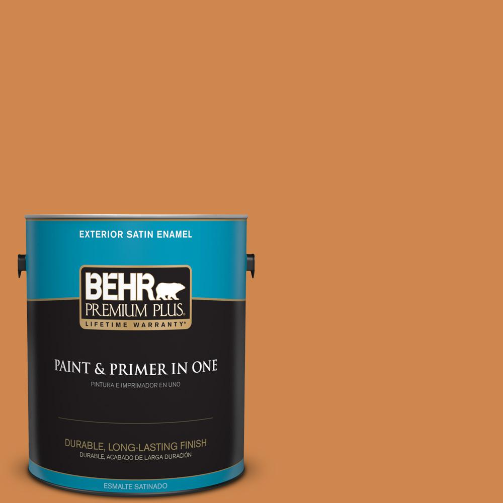 1 gal. #PPU3-03 Flaming Torch Satin Enamel Exterior Paint