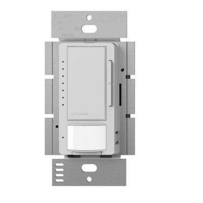Maestro C.L Dimmer and Vacancy Motion Sensor, Single Pole and Multi-Location, Palladium