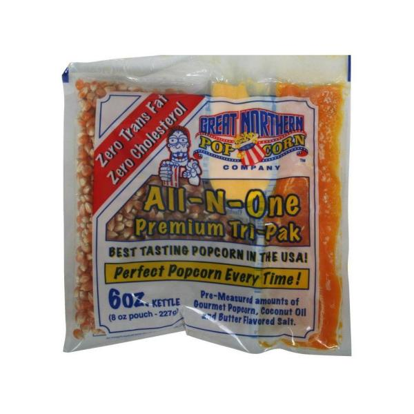 Great Northern 6 oz. All-In-One Popcorn (Pack of 24)
