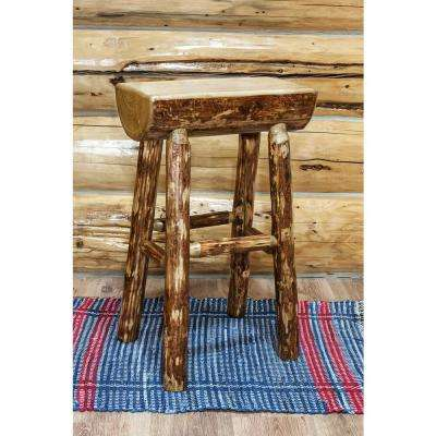 Glacier Country 30 in. Medium Brown Puritan Pine Bar Stool