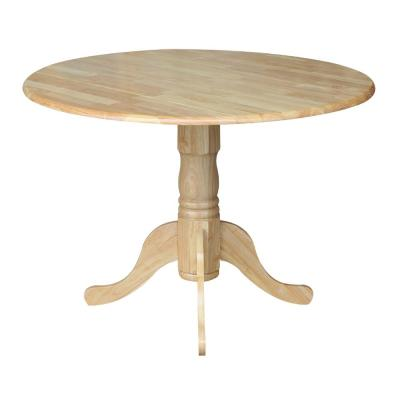 Natural Drop Leaf Dining Table