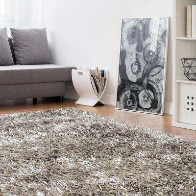 Electric Ave Clay 9 ft. x 12 ft. Area Rug