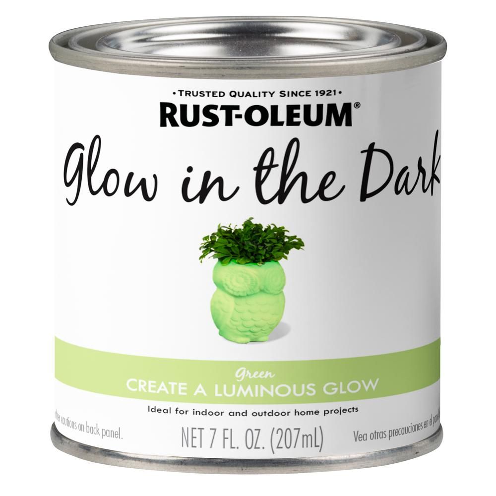 Rust Oleum Specialty 7 Oz Glow In The Dark Paint