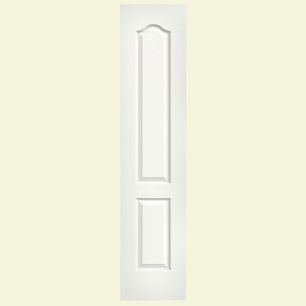 18 in. x 80 in. Princeton White Painted Smooth Solid Core