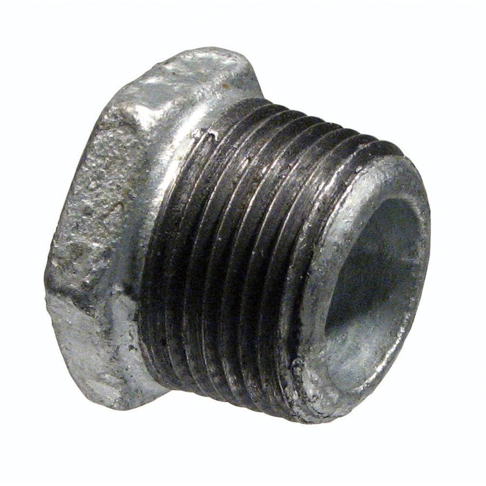 1-1/4 in. x 1 in. Galvanized Malleable Iron MPT x FPT