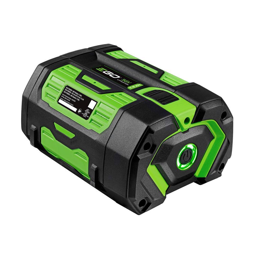 56-Volt 7.5 Ah Battery with Fuel Gauge