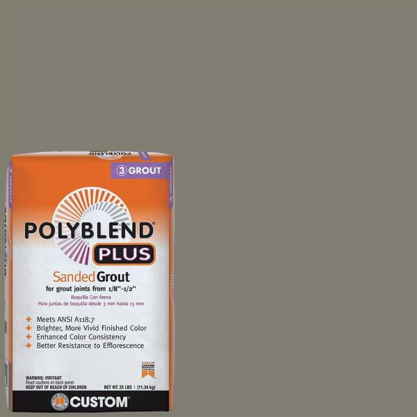 Polyblend Plus #09 Natural Gray 25 lb. Sanded Grout