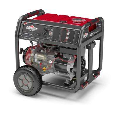 8,000-Watt Gasoline Powered Key Start Bluetooth Connected Portable Generator with 420cc OHV Engine