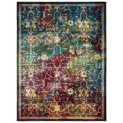 Panama Jack Bohemian Montego Multi 7 ft. 10 in. x 10 ft. 6 in. Area Rug