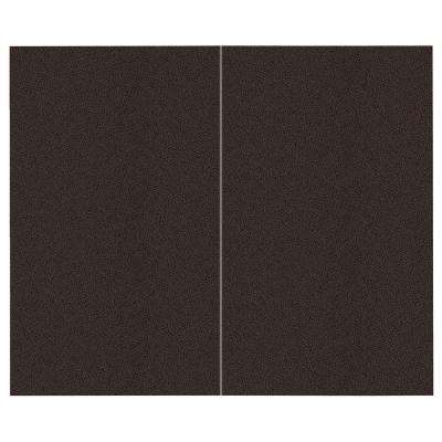 44 sq. ft. Coffee Bean Fabric Covered Top Kit Wall Panel