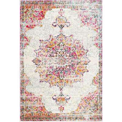 4 X 6 Pink Area Rugs Rugs The Home Depot