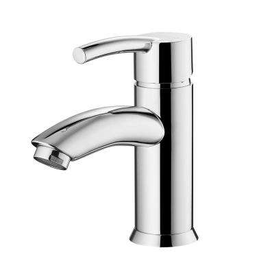 Bliss Single Hole Single-Handle Bathroom Faucet in Polished Chrome
