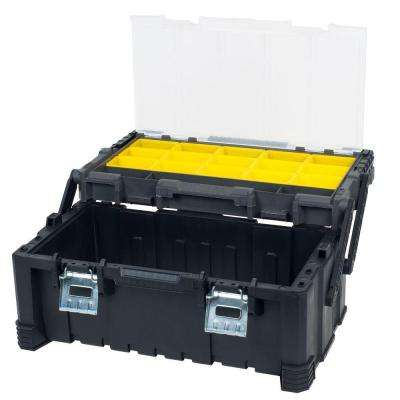 22.5 in. Parts and Crafts Tiered Storage Tool Box