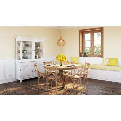 Yes rustic dining table kitchen dining room furniture oak dining table workwithnaturefo