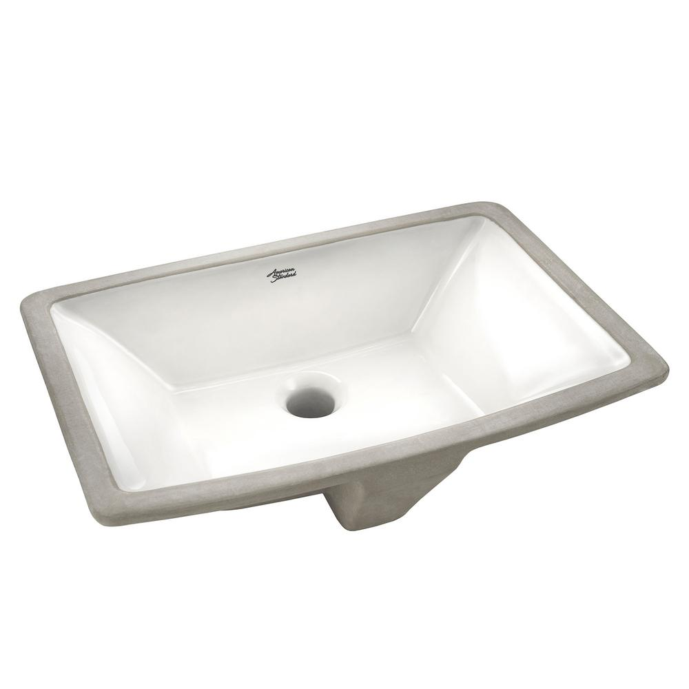 Attrayant American Standard Townsend Vessel Sink With Tapered Interior Bowl In White