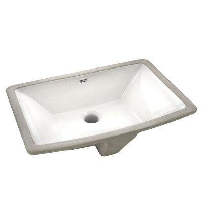 Townsend Vessel Sink with Tapered Interior Bowl in White