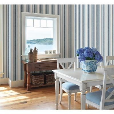Belfast Ocean Galop Stripe Wallpaper
