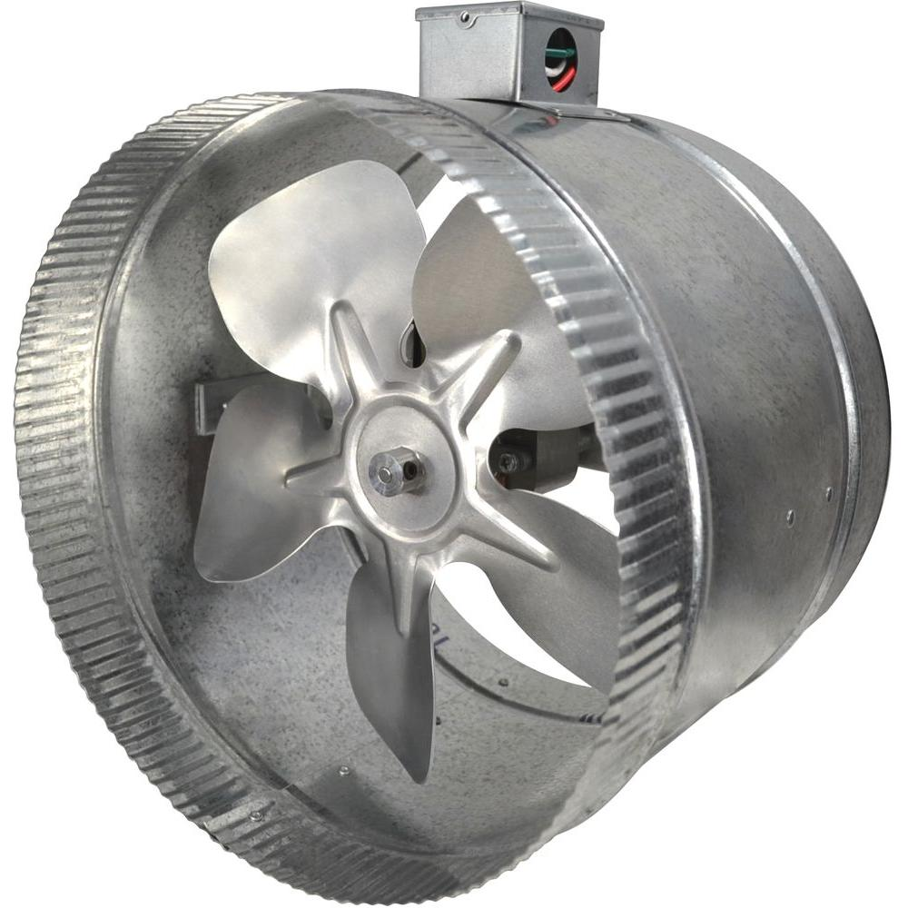 Inline Duct Fan Installation : Suncourt in speed inductor inline duct fan with