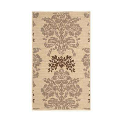 Tatton Taupe 6 ft. x 4 ft. Indoor/Outdoor Area Rug